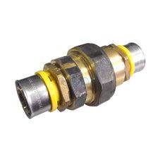 Bushpex Crimp Gas Reversion Union 16mm