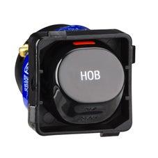 Clipsal 30M35Hobbk Mech 1/2Way 35A (Hob) Black