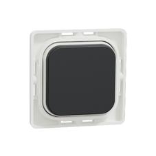 Clipsal Iconic Cap For Push-Button Iconic Black - 40APB-XB