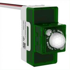 Clipsal Iconic Movement Detector, 40M, Pir, 3 Wire, 240 V,  Translucent - 41EPIRM-TN
