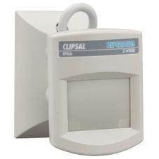Clipsal 750Wpr Infrascan Motion Infrared Sensor Outdoor 110° 3 Wire 10Amp Ip66 Grey