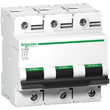 Clipsal Acti 9 C120 Miniature Circuit-Breaker, Acti9 C120N, 3P, 125 A, C Curve, 10000 A (Iec 60898-1), 10 Ka (Iec 60947-2) - A9N18369