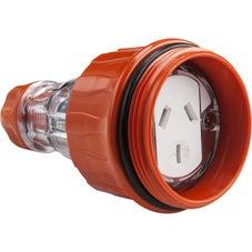 Clipsal Easy 56 Socket Connector - 10A - 250V - EY56CSC310