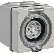 Clipsal Easy56 Easy56 Socket - 4 Pin - 10A - 500V - EY56SO410