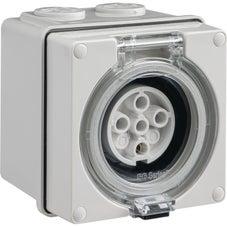 Clipsal Easy56 Easy56 Socket - 5 Pin - 10A - 500V - EY56SO510