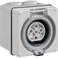 Clipsal Easy56 Easy56 Socket - 5 Pin - 20A - 500V - EY56SO520