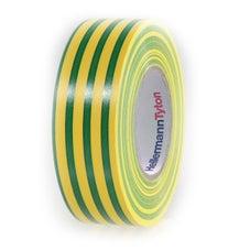 HellermannTyton Australia Green/yellow Insulation Tape 19mm x 20M 10 pack