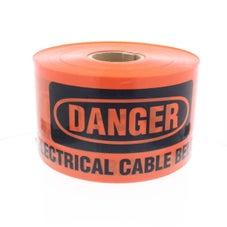 Elect Underground Marking Tape 500M Org