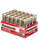 Panasonic Battery Aa Alkaline 1.5V 24Pack