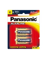 Panasonic Battery C Alkaline 1.5V 10Pack