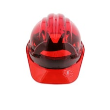 Force360 Clearview Hard Hat Red