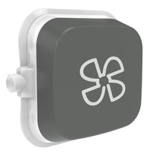 Clipsal Iconic E40Rf-Ag Rocker For Switch - Iconic Essence - Fan - Ash Grey - Pack Of 5