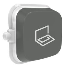 Clipsal Iconic E40Str-Ag Rocker For Switch - Iconic Essence - Study - Ash Grey - Pack Of 5