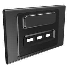 Clipsal Iconic S3043Usbc-Sh Cover Frame