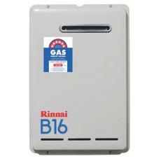 Rinnai B16L50 B16 Continuous Flow Hot Water System External Mount Preset 50deg LPG
