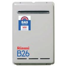 Rinnai B26L50 B26 Continuous Flow Hot Water System External Mount Preset 50deg LPG