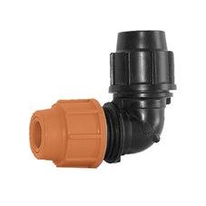 "Elbow Plasson 25mm Poly - 1/2"" Copper"