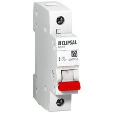 Clipsal Msw140 Main Switch Din Mtg 1Mod 1P 40A 250Vac
