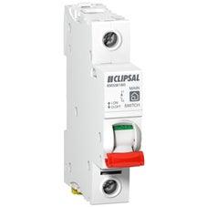 Clipsal Msw180 Main Switch Din Mtg 1Mod 1P 80A 250Vac