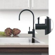 Puretec DFU200 Matt Black Designer Water Filter Faucet With LED Reminder Light