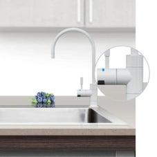 Puretec DFU210 Alpine White Designer Water Filter Faucet With LED Reminder Light