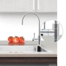 Puretec DFU230 Chrome Designer Water Filter Faucet With LED Reminder Light