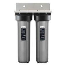 Puretec EM2-100 Dual 20' Whole House Rain & Mains Water Filter System 25mm Connections