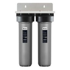 Puretec EM2-150 Dual 20' Whole House Rain & Mains Water Filter System 40mm Connections