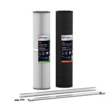 Puretec HR-G7R2 Water Filter & UV Maintenance Suit Kit Hybrid G7 & R2 20'