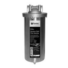 Puretec SS25MP1 10' Water Filter Housing MaxiPlus Stainless Steel 25mm Connections