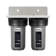 Puretec WH2-30 Dual 10' Whole House Water Filter System 25mm Connections