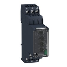 Clipsal Zelio Control Three-Phase Voltage Control Relay 380…480Vac, 2 C/O - RM22TR33