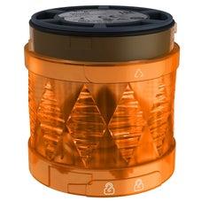 Clipsal Harmony XVU Illuminated Led Unit For Modular Tower Lights, Orange, Ø60, Blinking, Ip65, 24 V Ac/Dc - XVUC45