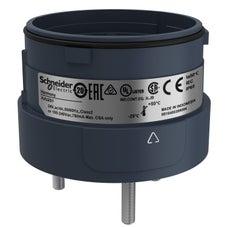 Clipsal Harmony XVU Fixing Unit For Modular Tower Lights, Black, Ø60, 3 Pins Direct Mounting - XVUZ01