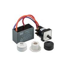 Clipsal Saturn Zen Fan Controller Mech and Knob 3 Speed 250V - Z4060CSFM