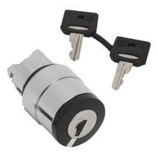 Clipsal Harmony XB4 Key Selector Switch - ZB4BG210